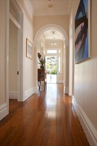 wood floors in home