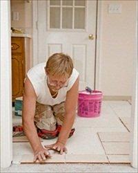 installing tile floors